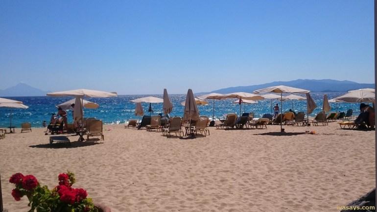 Beaches in Halkidiki - Assa Maris Bomo Club