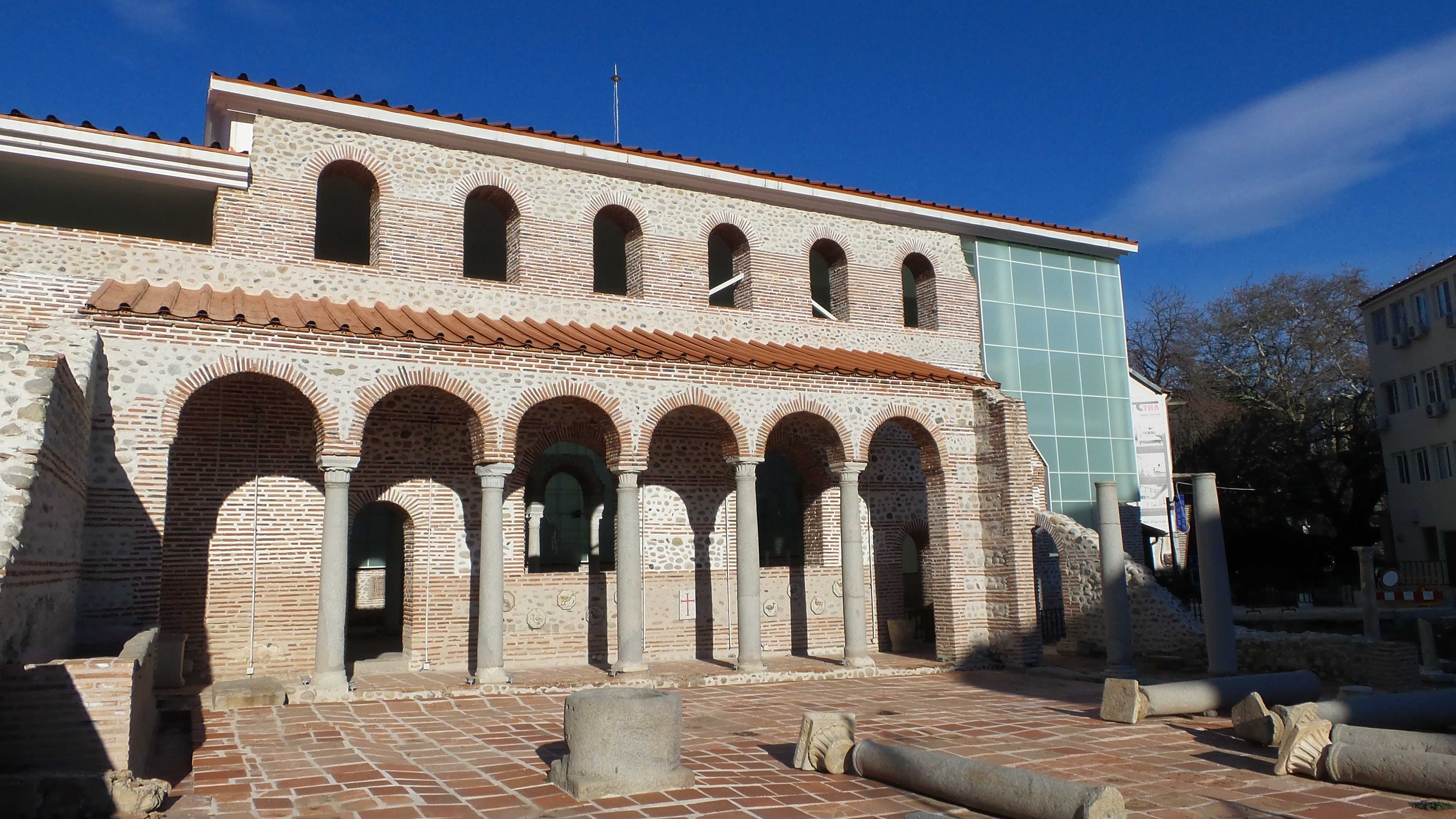 Episcopal Basilica in Sandanski, Bulgaria