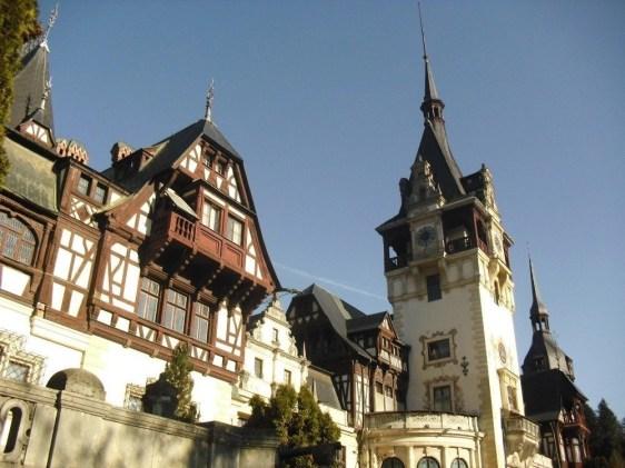 Peles Castle part of the Dracula Tour