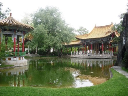 Chinese Garden in Zurich, Switzerland
