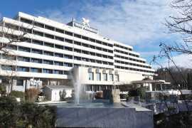 Interhotel Sandanski in Sandanski, Bulgaria