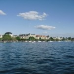 The lake in Zurich