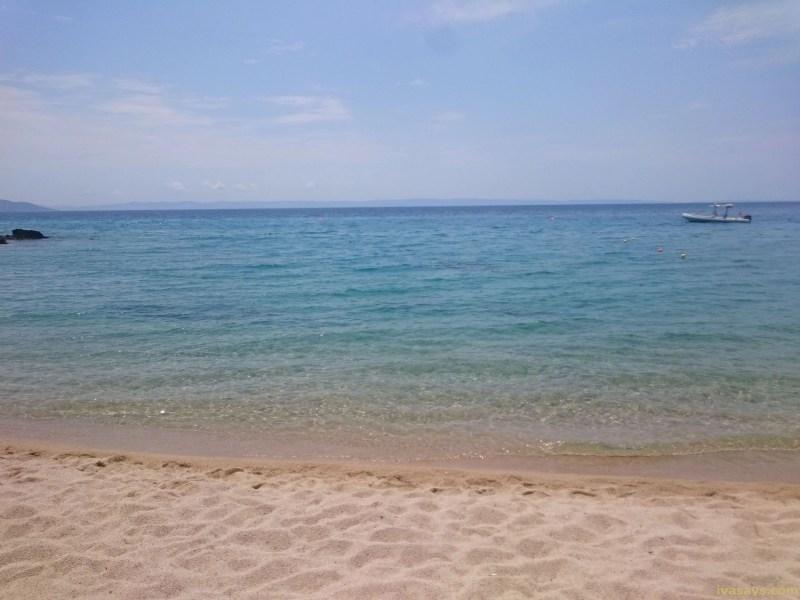 Beaches in Sithonia, Greece - Lagomandra BEach
