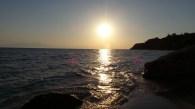 Another Sunset in Mykoniatika Beach, Nea Kallikratia, Greece