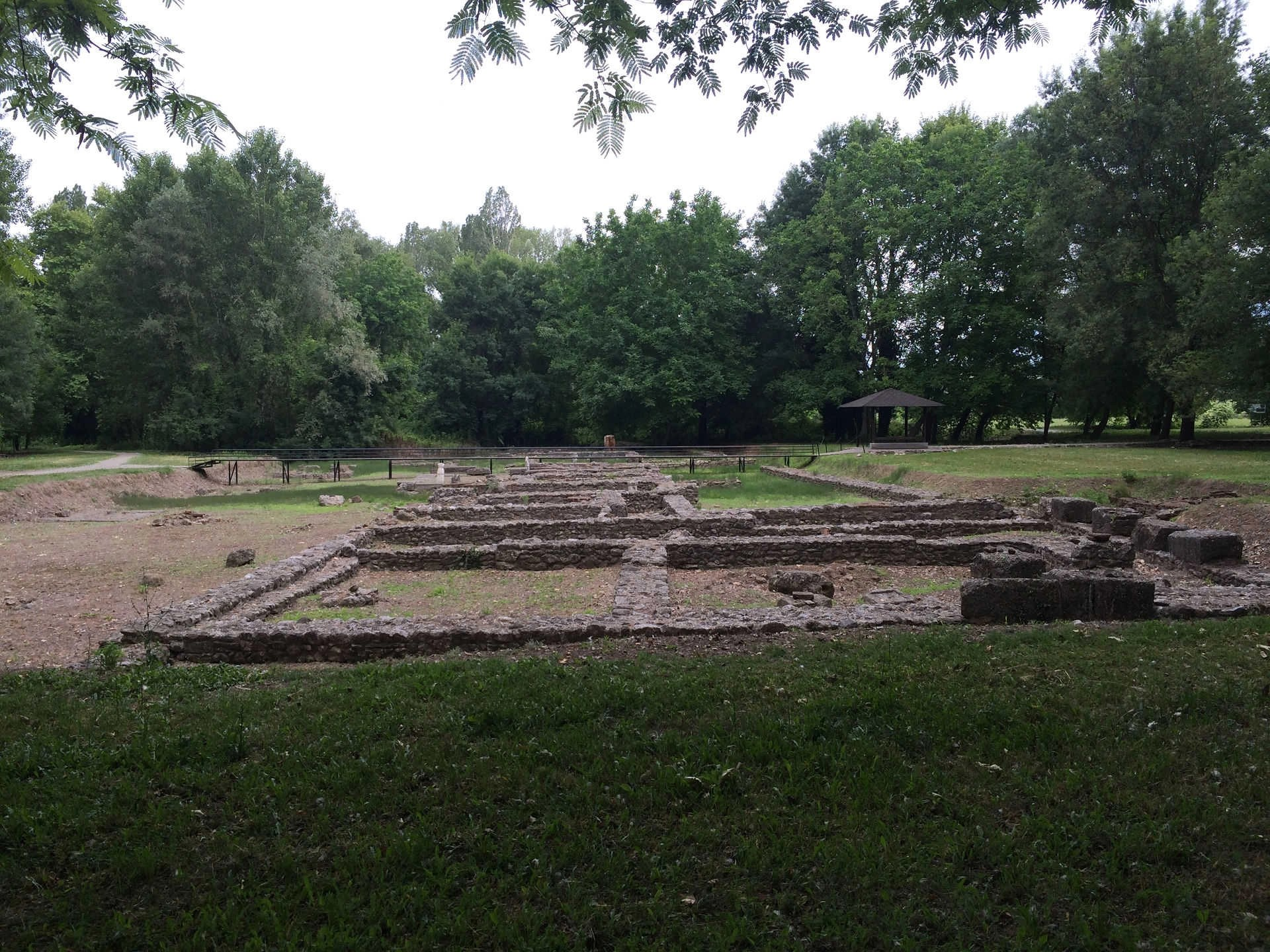 Ruins in the Archaeological Park of Dion