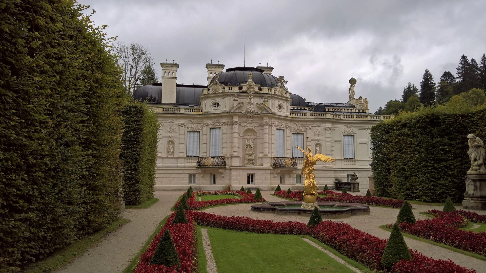 German Castles: Linderhof Castle