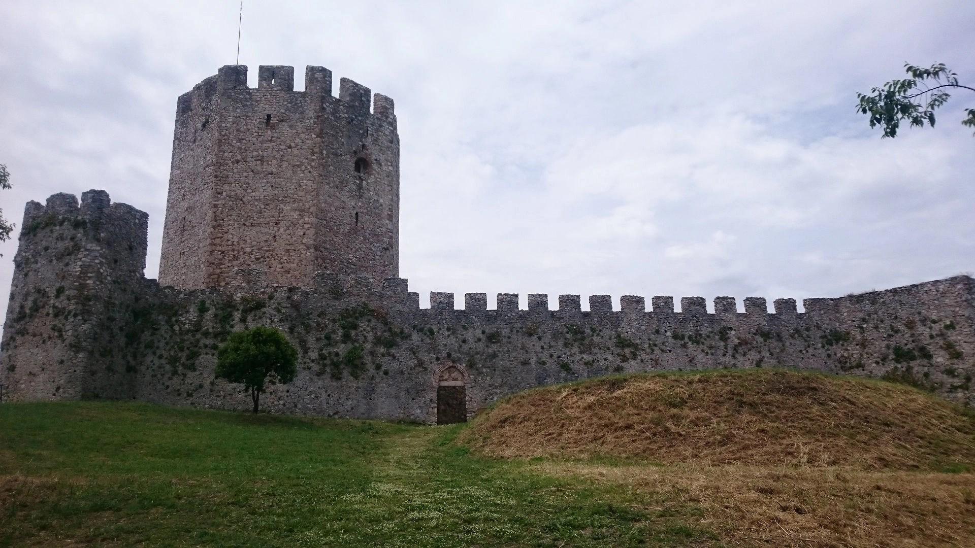 Crusader's castle, Platamonas, in Frourio, Greece