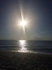 Sunrise in Olympic Beach