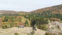 Tourists at Kozjak, Macedonia