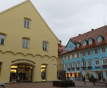 Traditional Houses in Memmingen