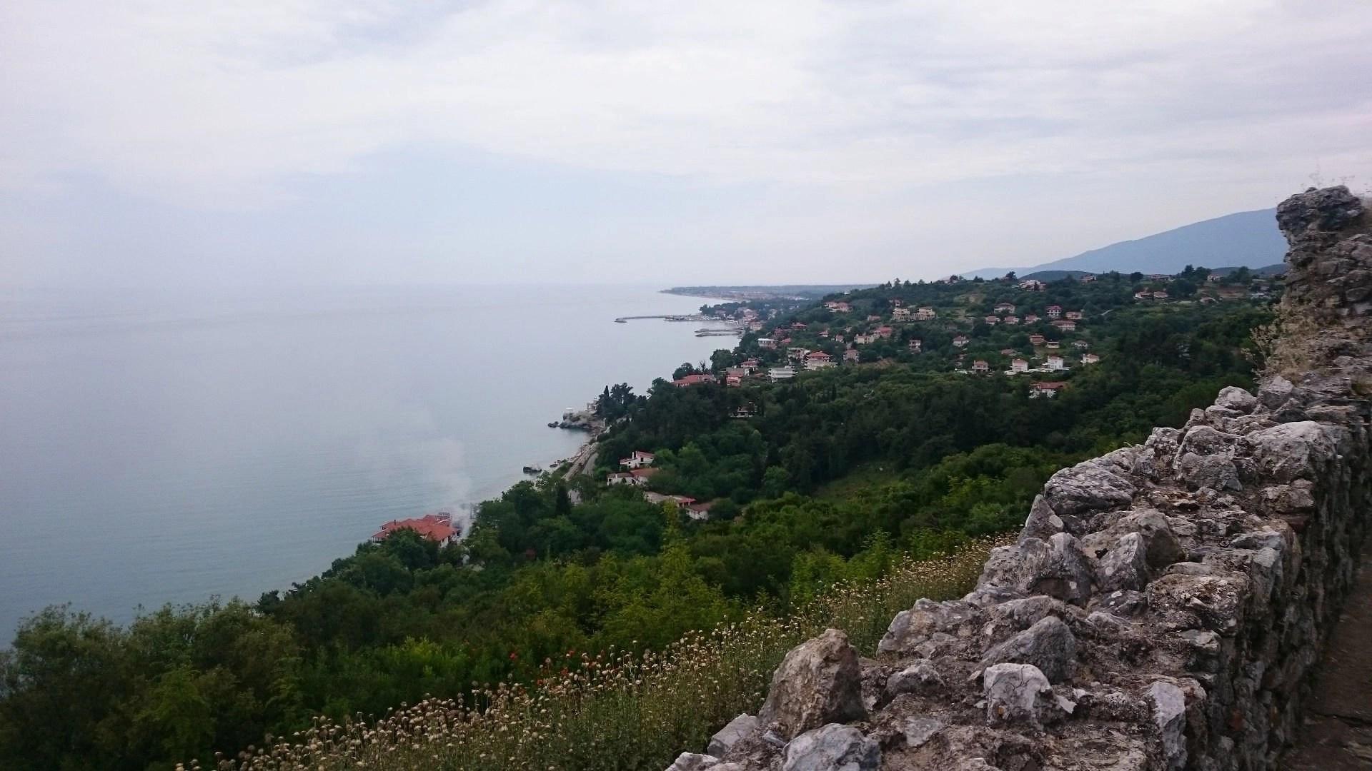 Overlooking Platamonas Castle
