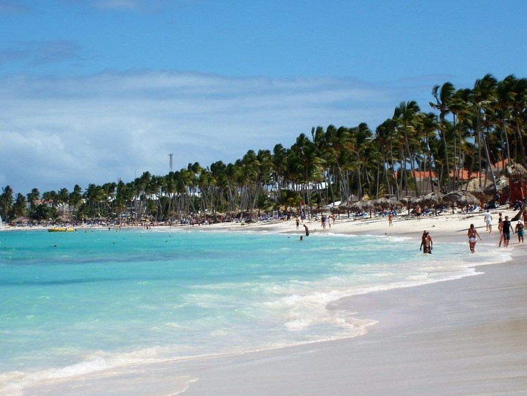 coast in punta cana
