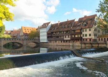Maxbrucke in Nuremberg Germany