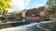 Maxbrucke in Nuremberg Germany