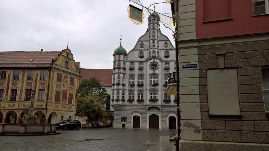 Rathaus in Memmingen, Germany