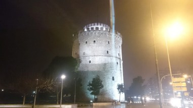 The White Tower at Night