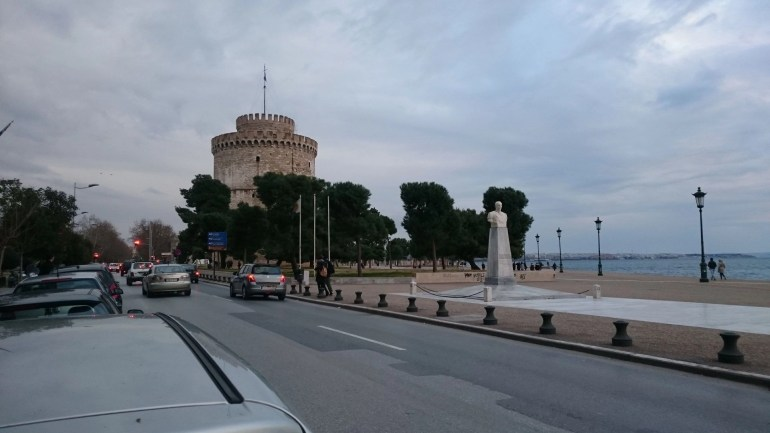 The White Tower from Afar