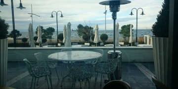 View from Makedonia Palace Hotel