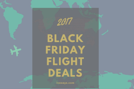 2017 Black Friday Flight Deals