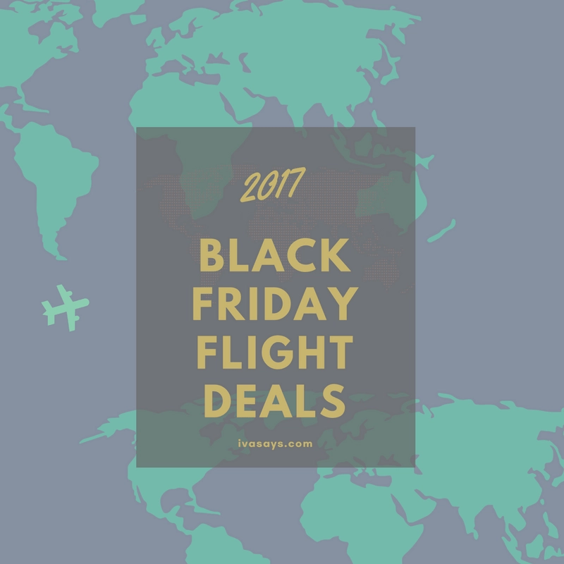 2017 Black Friday Flight Deals