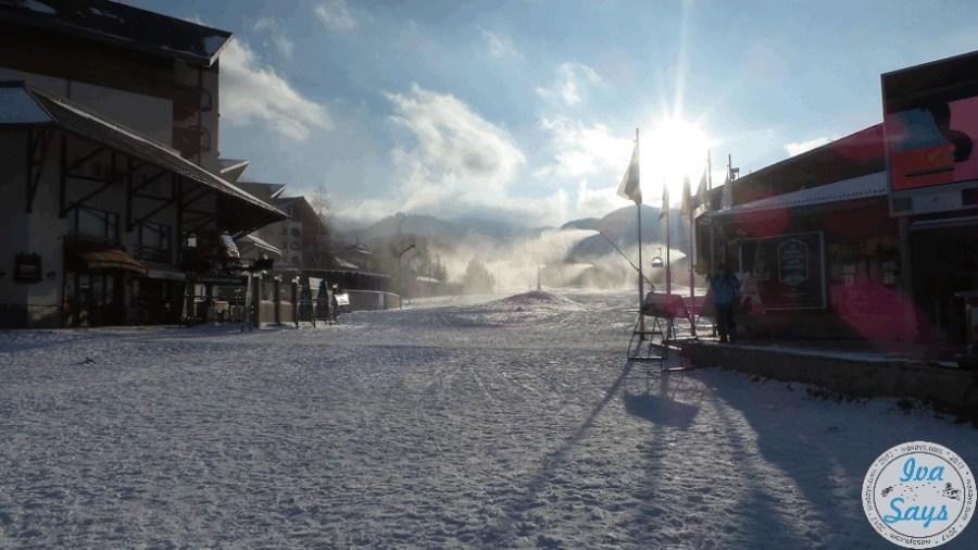 The Gondola (Gondula) Bansko Ski center in Bansko, Bulgaria