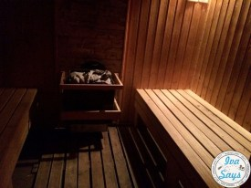 The aroma sauna room at St. George Ski and Spa Hotel in Bansko, Bulgaria