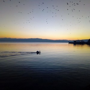 10 Breathtaking Photos of Sunsets in Ohrid