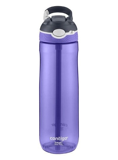 Travel gear deals under 25 - Contigo AUTOSPOUT Straw Ashland Water Bottle