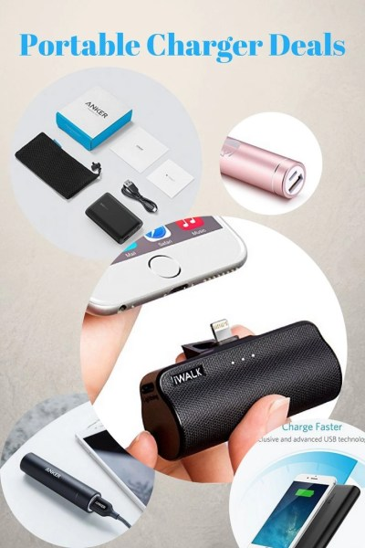 Portable Charger Deals on Amazon from Iva Says | Travel accessories | Travel Gear | Traveling | Bucket List | Shopping