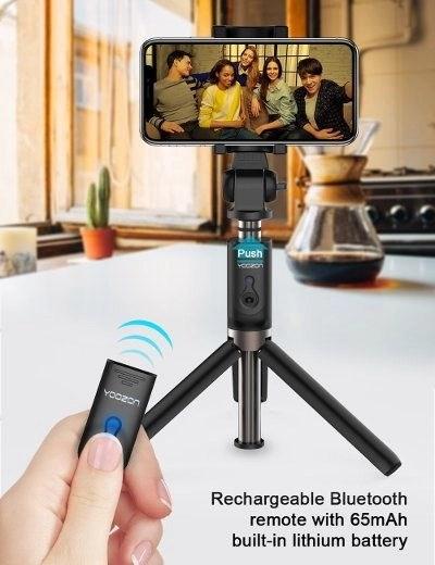 Travel Gear - Deals Under 25 - Yoozon Selfie Stick Bluetooth