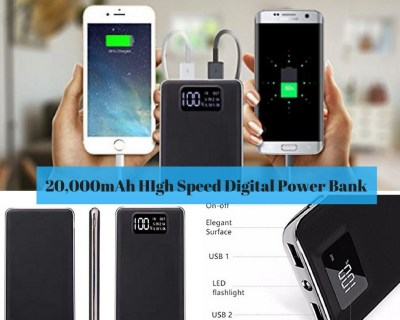 20,000mAh High-Speed Digital Power Bank from Amazon.com