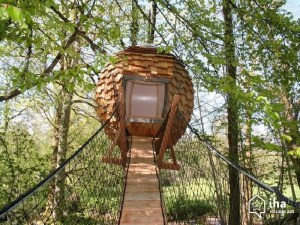 Tree house, the air travel element.