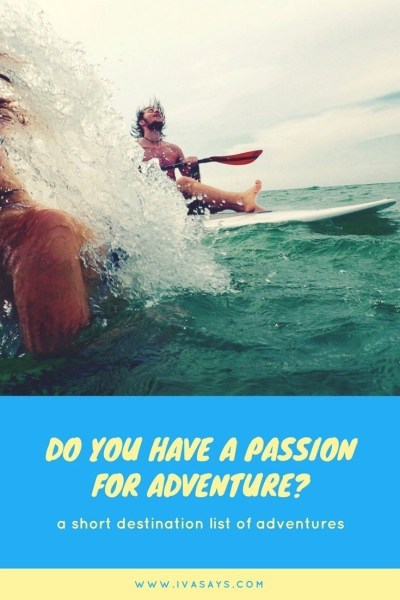 Do you have a passion for adventure? Get out short list of destinations to have wonderful adventures such as hiking to Machu Picchu, Swimming in the Great Reef, or quad biking up to a volcano.