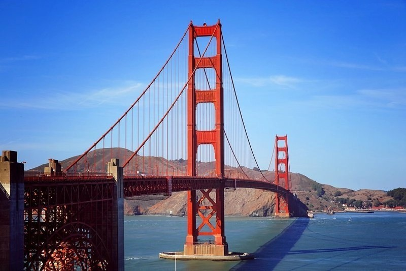 The Golden Gate Bridge in San Francisco, California should be on anyone's bucket list.