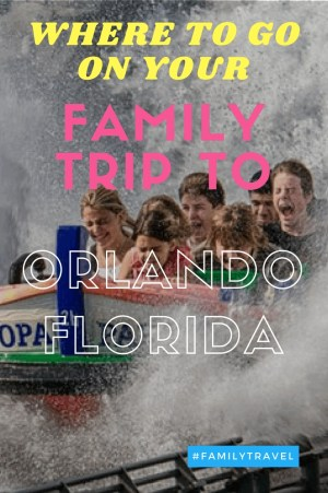 """Pinterst image for the article """"Family Trip to Orlando - Here's Where You Need to Go"""" on ivasays.com"""