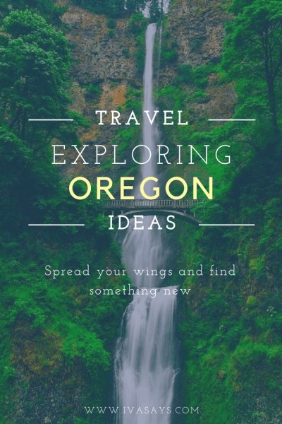 The Multnomah Falls in Oregon make part of multi-locations that make a great itinerary when traveling throughout Oregon.