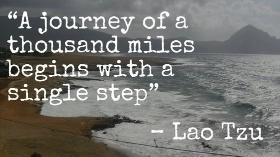 """Collections of Famous Travel Quotes. 45. """"A journey of a thousand miles begins with a single step"""" – Lao Tzu"""