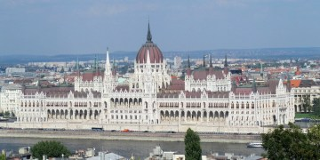 The Parliament in Budapest, Hungary. Discover Budapest with a unique Budapest food tour throughout the city.