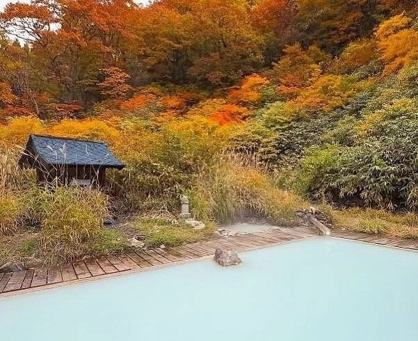 Public bath in Nozawa Onsen, Japan.