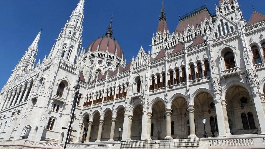 Budapest Parliament building in Hungary.