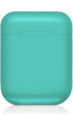 Green Wireless Bluetooth Headphones in Charge Case