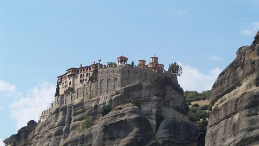 The Great Meteoron Monastery in Kalambaka, Greece
