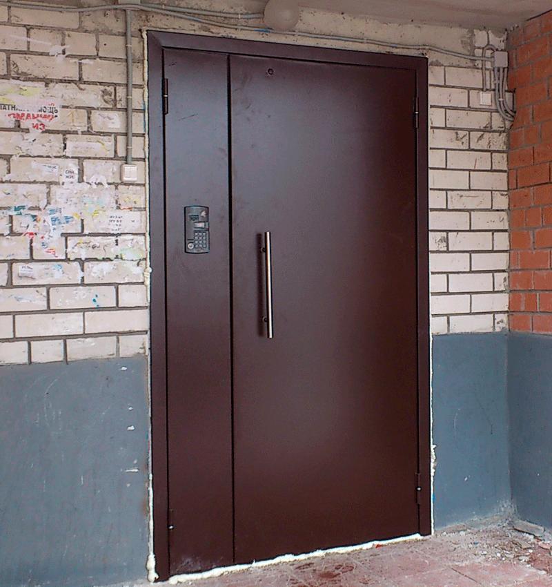 Наши работы Двери входные