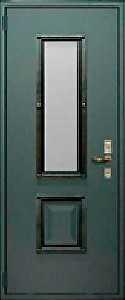Наружная отделка входной двери