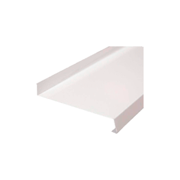 Отлив металлический белый