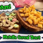 Nutella Cereal Toast