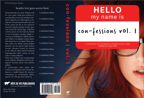 Con-Fessions Full Cover Design