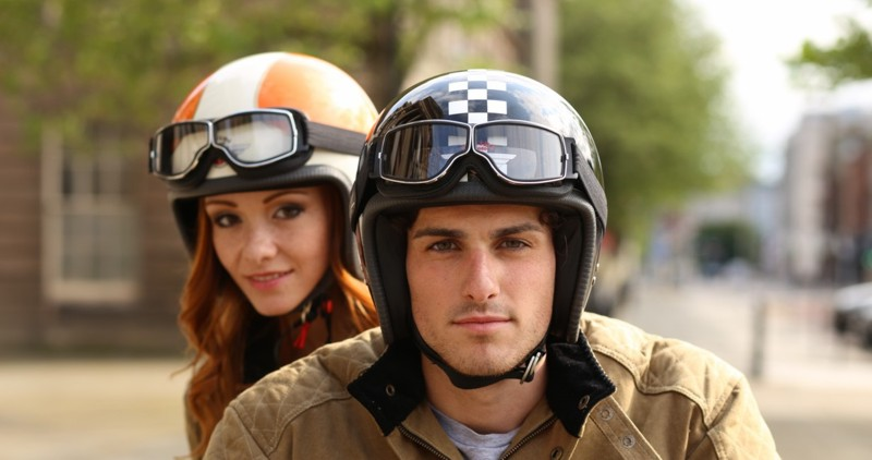 davida-92-motorcycle-open-face-helmet-ivespa-Best open face helmets balance style with protection