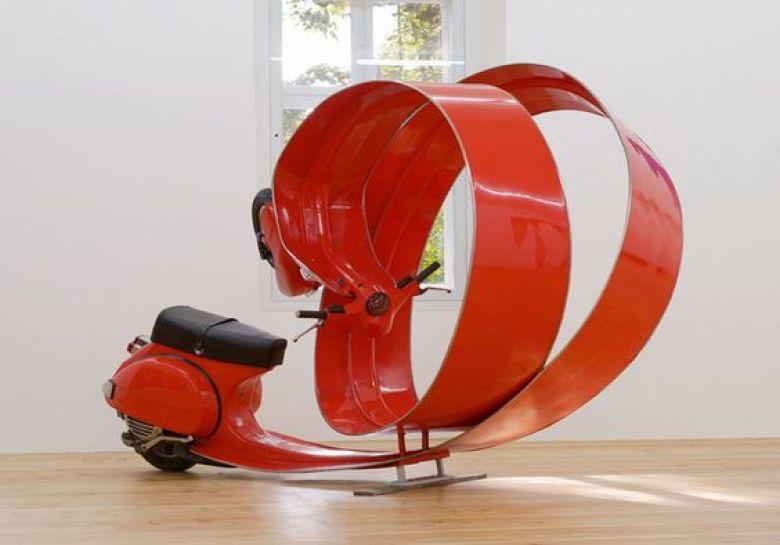 Stefan Rohrer Vespa scooter art -i vespa Stefan Rohrer Vespa scooter art