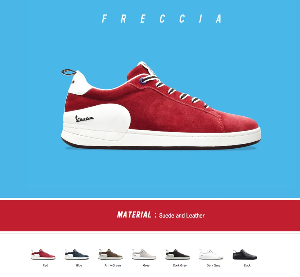 Modern Shoe Logo Collection: Vespa New Footwear Collection